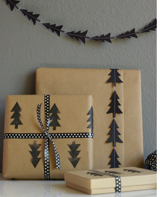 Black-Tree-Stamp-and-Garland