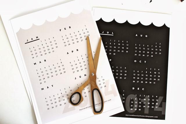 kalendarz myscandinavianhome