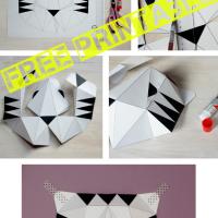 Print & DIY: Paper Tiger / Papierowy tygrys