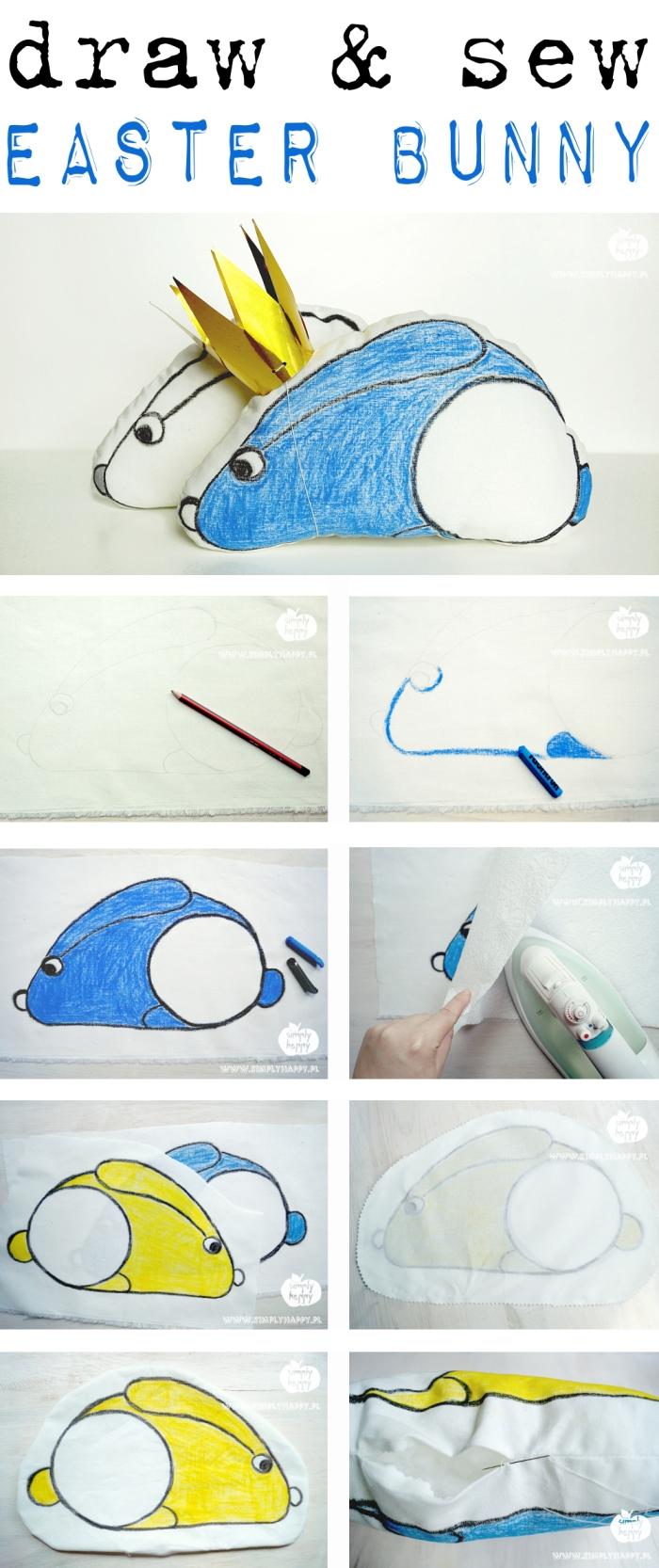 rysowanie królika